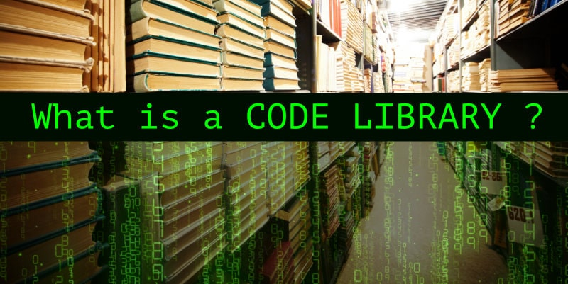 What is a code library?